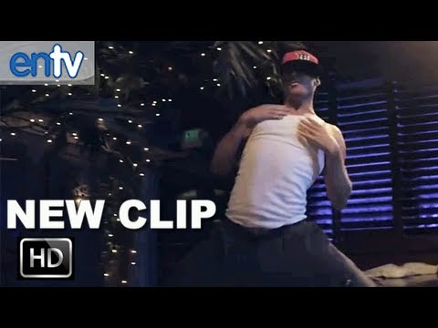 """Magic Mike """"Channing Tatum"""" Official Clip [HD]: Dancing While Cody Horn Watches"""