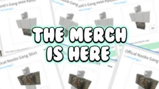 ROBLOX / THE MERCH IS OUT !