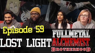 Fullmetal Alchemist: Brotherhood - Episode 59 Lost Light - Group Reaction