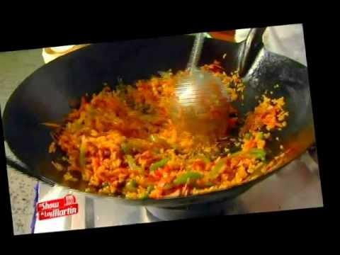 Recetas wok de arroz