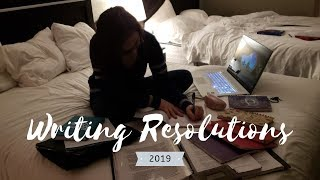 New Years | Writing Resolutions