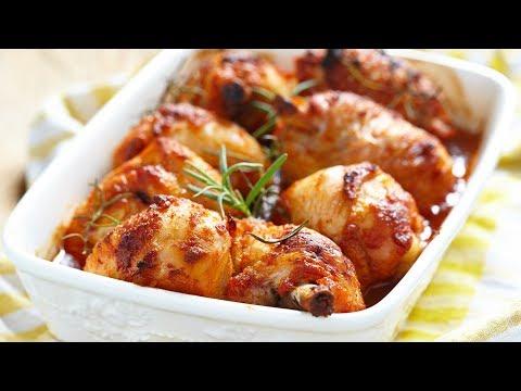 Очень вкусная Курица запеченная в духовке - рецепт