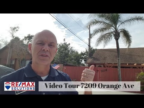 Video Tour 7209 Orange Ave Cape Canaveral Florida For Sale Near Ocean REMAX Solutions