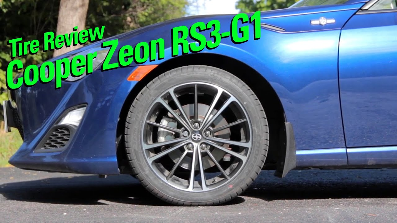 Cooper Zeon RS3 G1 Tire Review