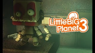LittleBIGPlanet 3 - Mike's New Job! [FNAF Trailer Movie] -  Playstation 4