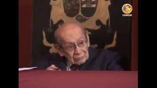 Homenaje:Ceremonia de distinción Medalla de Honor Sanmarquina al Dr. Miguel Maticorena Estrada