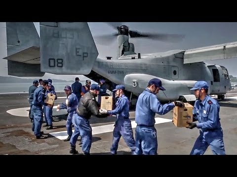 US Marines Supporting Japan Kumamoto Earthquake Relief Efforts