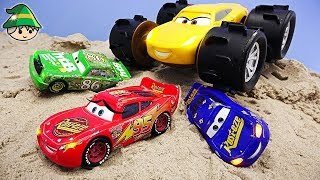 Disney Cars Escape Story. Take off the monster truck toy.