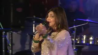 Raah Me Unse Mulaqat Ho Gayee  sung by Alka Yagnik in Kuwait on 12th April 13