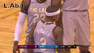 Lebron james and IT psyco-fight. Why Isaiah Thomas had to leave Cleveland.  @ Orlando thumbnail
