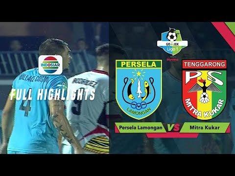 Persela Lamongan (3) vs (1) Mitra Kukar FC - Full Highlight | Go-Jek Liga 1 Bersama Bukalapak