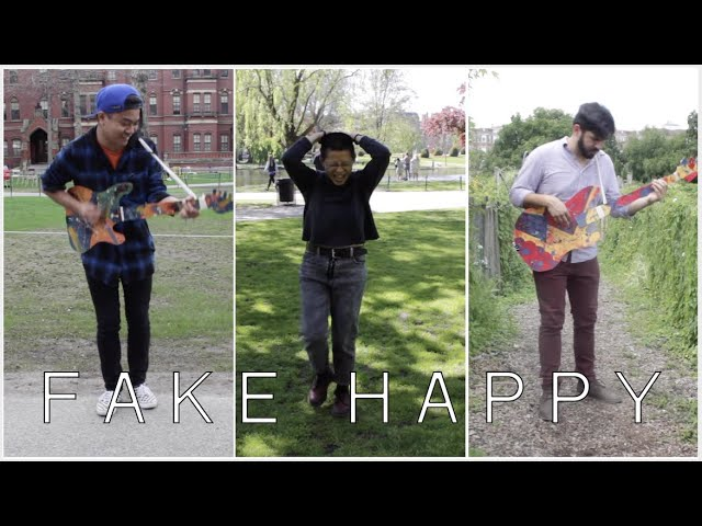 """Fake Happy"" (by Paramore) - Acoustic Cover by Nicoh Kwan & friends"
