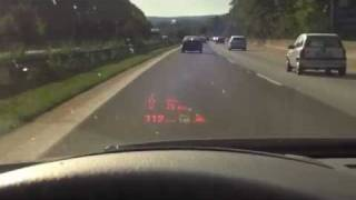 BMW 5 Series Active Cruise Control and Head-Up Display