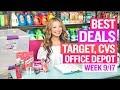 ★ 14 FREEBIES & Coupon Deals Target, CVS, Office Depot (Week 9/17-9/23) + $0.01 Batteries