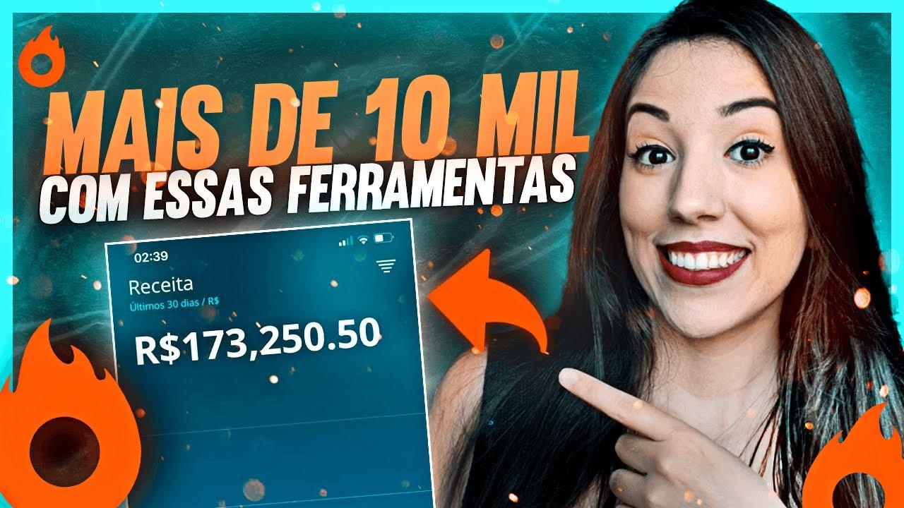 TOP 3 Ferramentas Para GANHAR Mais de R$ 10.000,00 por Mês Como Afiliado Digital