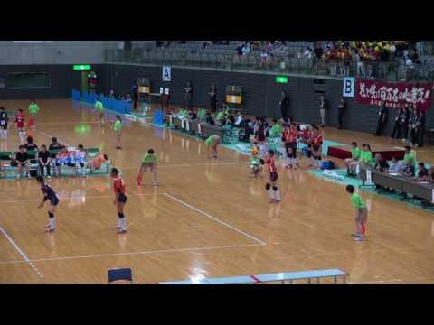 31日 女子バレーボール セキスイハイムスーパーアリーナCコート 誠英×市立船橋 準々決勝 3