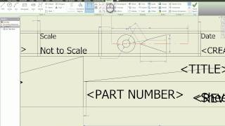 Creating Your Own Drawing Template in Autodesk Inventor Tutorial