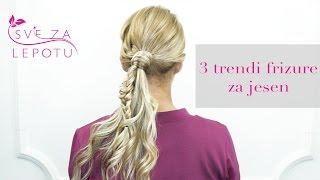 Sve za lepotu: 3 trendi frizure za jesen