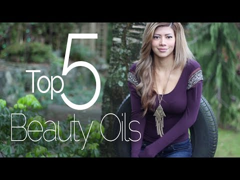 My Top 5 Beauty Oils