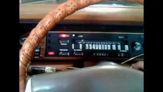 Cold start of 1972 Imperial LeBaron By Chrysler