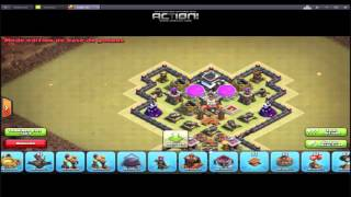 HDV 7 - Speed-Building - HYBRID - Clash Of Clans