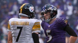 NFL Week 9 - Pittsburgh Steelers vs Baltimore Ravens | NFL Sunday Football November 4th, 2018