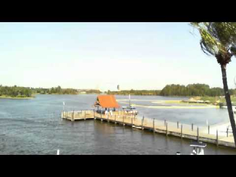 Disney's Polynesian Resort - View from Tuvalu MK View