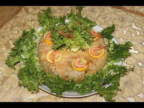 Pastilla aux fruits de mer --- (بسطيلة بفواكه البحر (الحوت