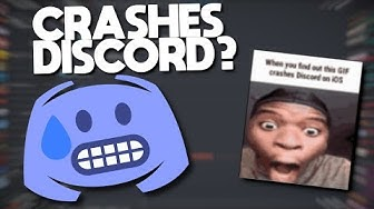 This CRASHES your Discord App? (Bug in Discord)