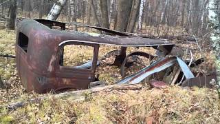2 Minute Vacation Remains Of Old Packard 83724 Miles