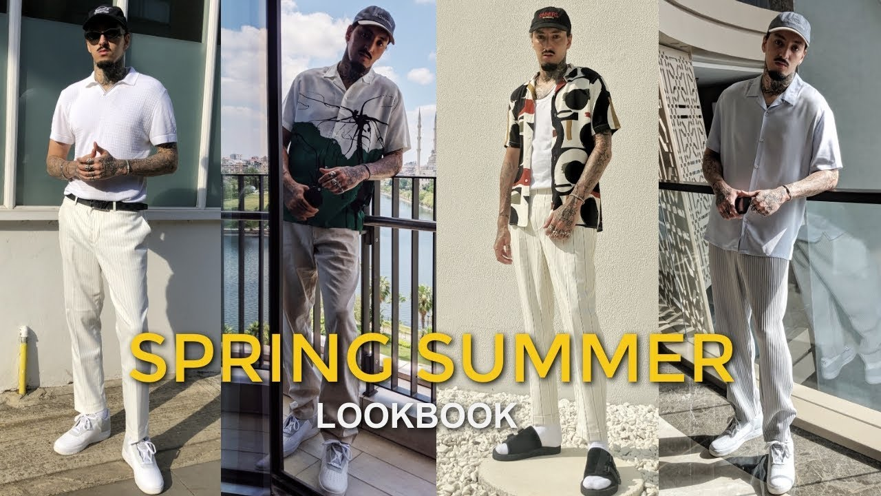STREETWEAR LOOKBOOK   SPRING SUMMER   Mens Fashion 2019 8
