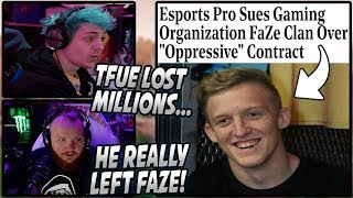 Ninja & Tim SHOCKED After Tfue SUES FaZe For T...