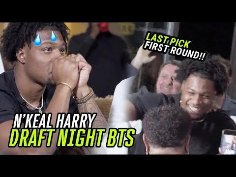 """I'm About To THROW UP."" We Spent DRAFT NIGHT With New Patriots WR N'Keal Harry 🙏"