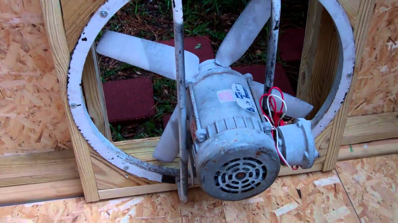 exhaust fan install paint room youtube