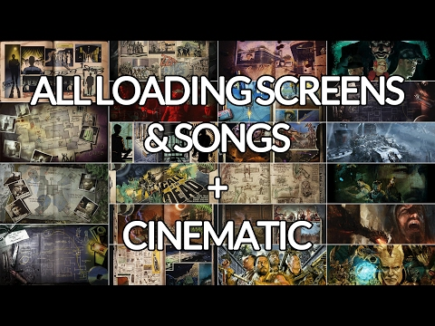 All Zombie Loading Screens & Songs w/ Cinematic (Nacht - Revelations)