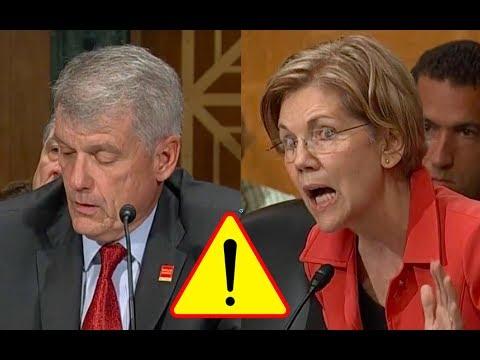 "Elizabeth Warren Shames Wells Fargo CEO for FAKE ACCOUNTS! says ""You Should Be Fired""!"