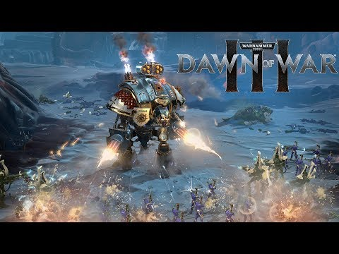 SPACE MARINE HEAVY METAL | Warhammer 40,000: Dawn of War 3 - Space Marines vs Eldar