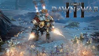 SPACE MARINE HEAVY METAL | Warhammer 40,000: Dawn of War 3 - Space Marines vs Eldar
