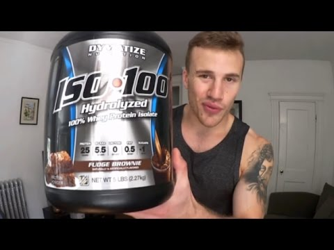 Dymatize Iso 100 Review (Protein Powder for Lactose Intolerant)