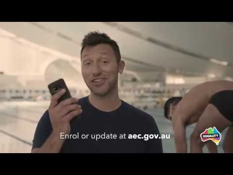 Ian Thorpe Enrol Video