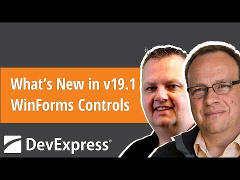 What's New in v19 1 - WinForms Controls