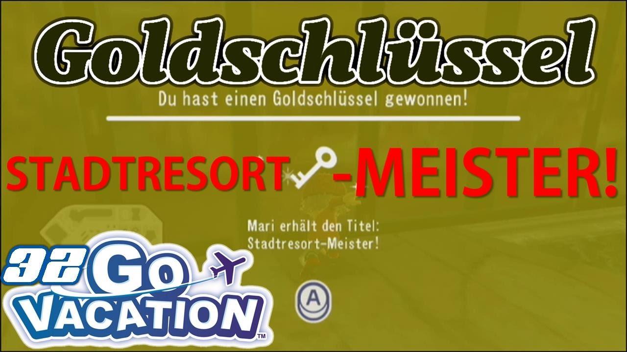 STADTRESORT-MEISTER! (Goldschlüssel) 🔑 - Wii Go Vacation (Let\'s ...