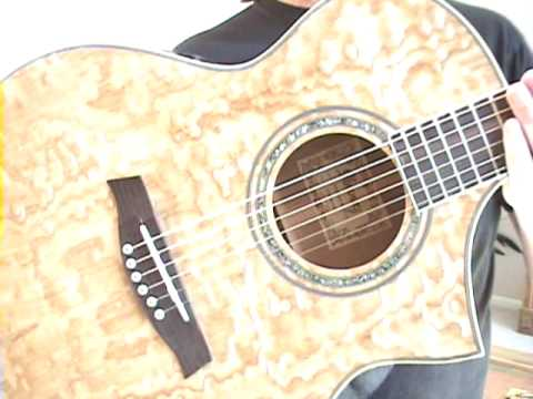 ibanez ew20ase ash acoustic electric guitar review scott grove youtube. Black Bedroom Furniture Sets. Home Design Ideas