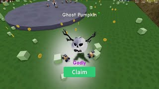Grinding Pumpkin Patch in UnBoxing Simulator