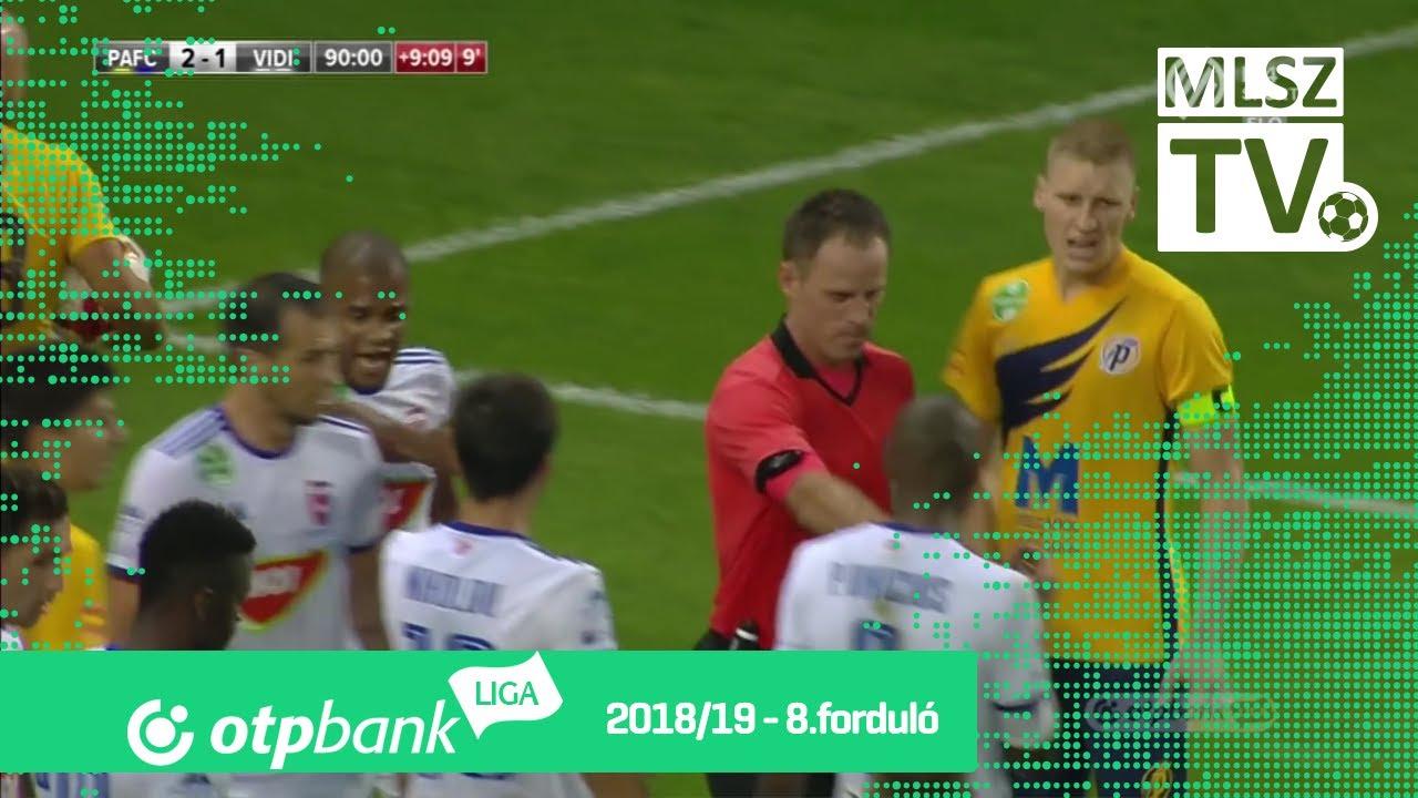 Puskás Akadémia FC - Mol Vidi FC | 2-1 (1-1) | OTP Bank Liga | 8. forduló | 2018/2019