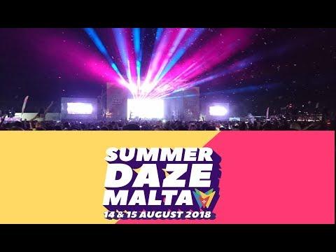 Summer Daze Festival Malta - 14&15 August 2018 - Martin Garrix [Medium Quality]