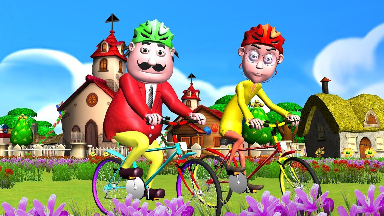 Motu Patlu Cartoon (2019) New Episode in Hindi | Cycle Race