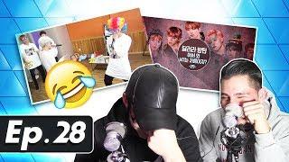 GUYS REACT TO BTS 'Run BTS' Ep. 28