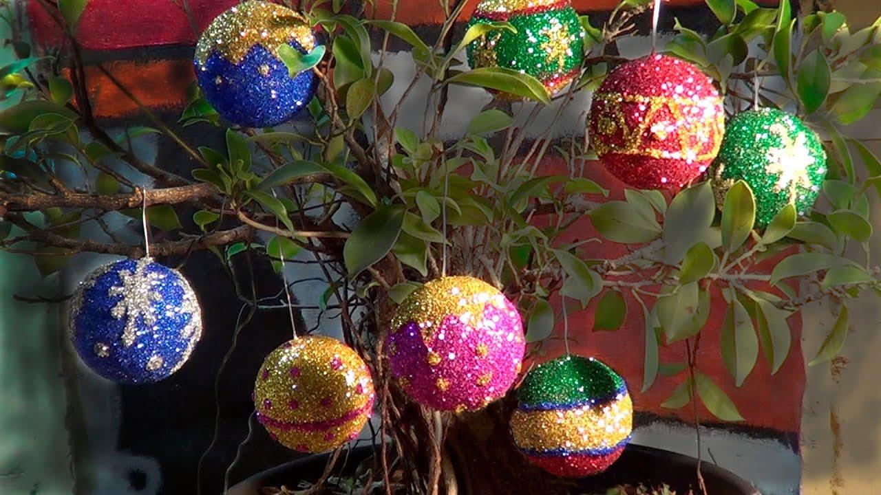 Bolas de natal christmas balls esferas navidad youtube - Esferas de navidad ...