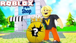 GIORNO IL MIO MONEY ON KING'S EGGS?! :: Roblox Adottarmi! Danese